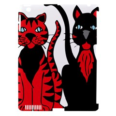 Cool Cats Apple iPad 3/4 Hardshell Case (Compatible with Smart Cover)