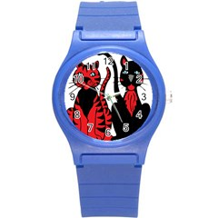 Cool Cats Plastic Sport Watch (Small)