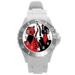 Cool Cats Plastic Sport Watch (Large)