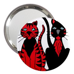 Cool Cats 3  Handbag Mirror