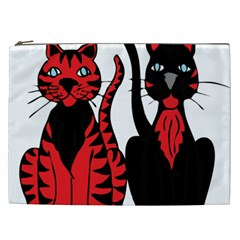 Cool Cats Cosmetic Bag (XXL)