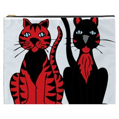 Cool Cats Cosmetic Bag (XXXL)