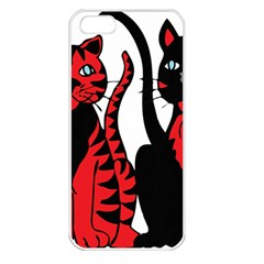 Cool Cats Apple iPhone 5 Seamless Case (White)