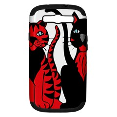 Cool Cats Samsung Galaxy S Iii Hardshell Case (pc+silicone)