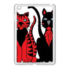 Cool Cats Apple Ipad Mini Case (white)