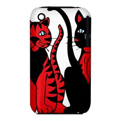 Cool Cats Apple iPhone 3G/3GS Hardshell Case (PC+Silicone)