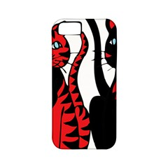 Cool Cats Apple Iphone 5 Classic Hardshell Case (pc+silicone)