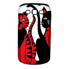 Cool Cats Samsung Galaxy S III Classic Hardshell Case (PC+Silicone)