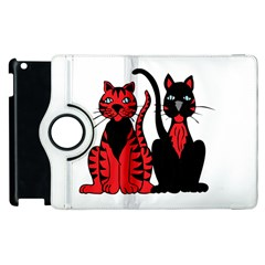 Cool Cats Apple iPad 2 Flip 360 Case