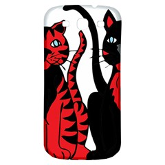 Cool Cats Samsung Galaxy S3 S III Classic Hardshell Back Case
