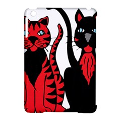Cool Cats Apple iPad Mini Hardshell Case (Compatible with Smart Cover)