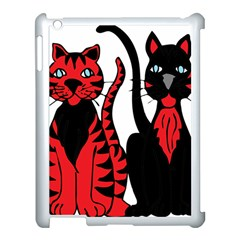 Cool Cats Apple iPad 3/4 Case (White)