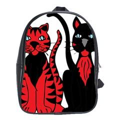Cool Cats School Bag (XL)