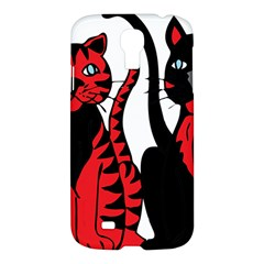 Cool Cats Samsung Galaxy S4 I9500/i9505 Hardshell Case