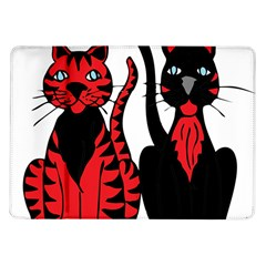 Cool Cats Samsung Galaxy Tab 10 1  P7500 Flip Case
