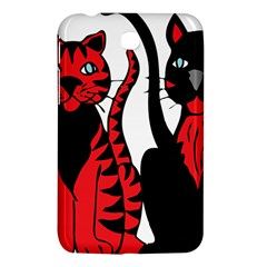 Cool Cats Samsung Galaxy Tab 3 (7 ) P3200 Hardshell Case