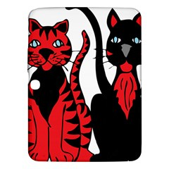 Cool Cats Samsung Galaxy Tab 3 (10 1 ) P5200 Hardshell Case