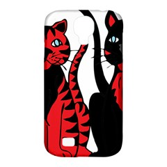 Cool Cats Samsung Galaxy S4 Classic Hardshell Case (pc+silicone)