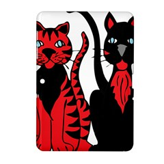 Cool Cats Samsung Galaxy Tab 2 (10 1 ) P5100 Hardshell Case