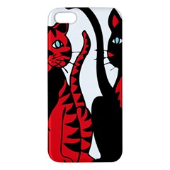 Cool Cats iPhone 5S Premium Hardshell Case