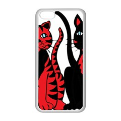 Cool Cats Apple Iphone 5c Seamless Case (white)
