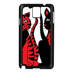 Cool Cats Samsung Galaxy Note 3 N9005 Case (black)