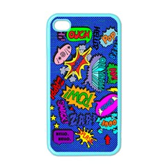 Bubbles Apple Iphone 4 Case (color)