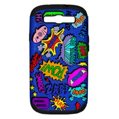 Bubbles Samsung Galaxy S Iii Hardshell Case (pc+silicone)