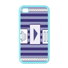 Music Time Apple Iphone 4 Case (color)