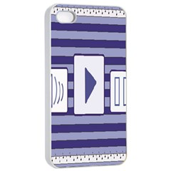 Music Time Apple Iphone 4/4s Seamless Case (white)
