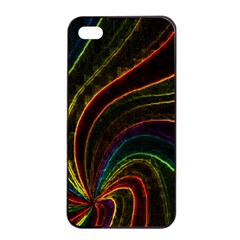 Neon Twist Apple Iphone 4/4s Seamless Case (black)