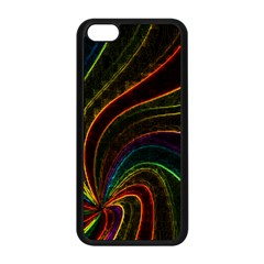 Neon Twist Apple Iphone 5c Seamless Case (black)