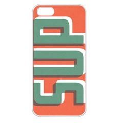 Sup  Apple Iphone 5 Seamless Case (white)