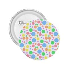 Pastel Bubbles 2.25  Button