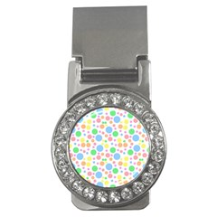 Pastel Bubbles Money Clip (CZ)