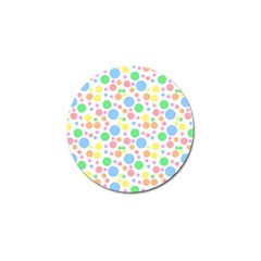 Pastel Bubbles Golf Ball Marker 10 Pack