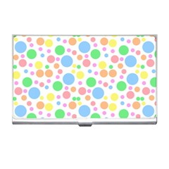Pastel Bubbles Business Card Holder