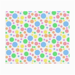 Pastel Bubbles Glasses Cloth (Small, Two Sided)