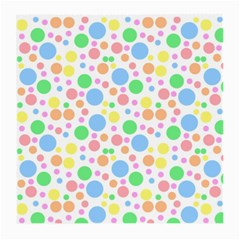 Pastel Bubbles Glasses Cloth (Medium, Two Sided)