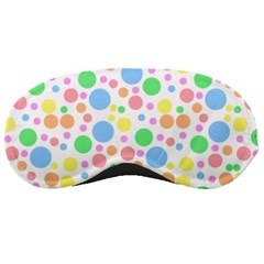 Pastel Bubbles Sleeping Mask