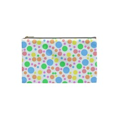 Pastel Bubbles Cosmetic Bag (Small)
