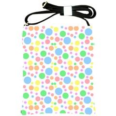 Pastel Bubbles Shoulder Sling Bag