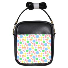 Pastel Bubbles Girl s Sling Bag