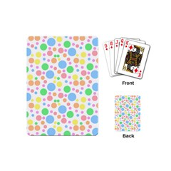 Pastel Bubbles Playing Cards (mini)