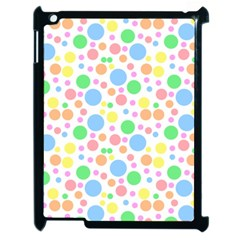 Pastel Bubbles Apple Ipad 2 Case (black)