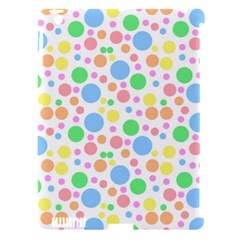 Pastel Bubbles Apple iPad 3/4 Hardshell Case (Compatible with Smart Cover)