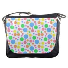 Pastel Bubbles Messenger Bag