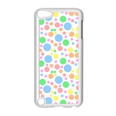 Pastel Bubbles Apple iPod Touch 5 Case (White)