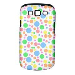 Pastel Bubbles Samsung Galaxy S III Classic Hardshell Case (PC+Silicone)