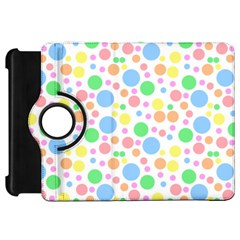 Pastel Bubbles Kindle Fire HD 7  (1st Gen) Flip 360 Case